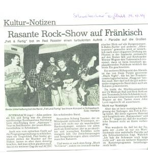 Rasante Rockshow